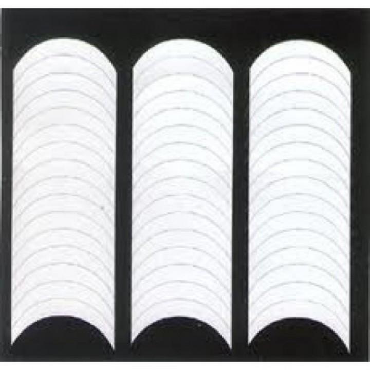 Полоски, трафареты для французского маникюра 48 шт/уп