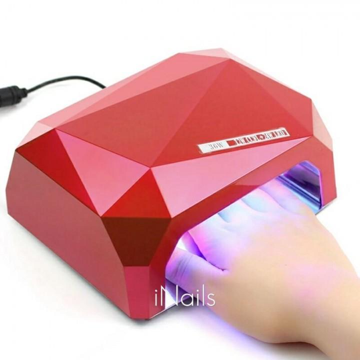 Уф лед ссфл гибридная лампа для гель лака, шеллака, геля с сенсором